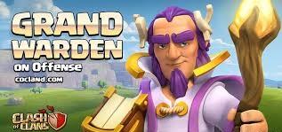 grand warden گرند واردن هیروی جدید آپدیت تاون هال 11